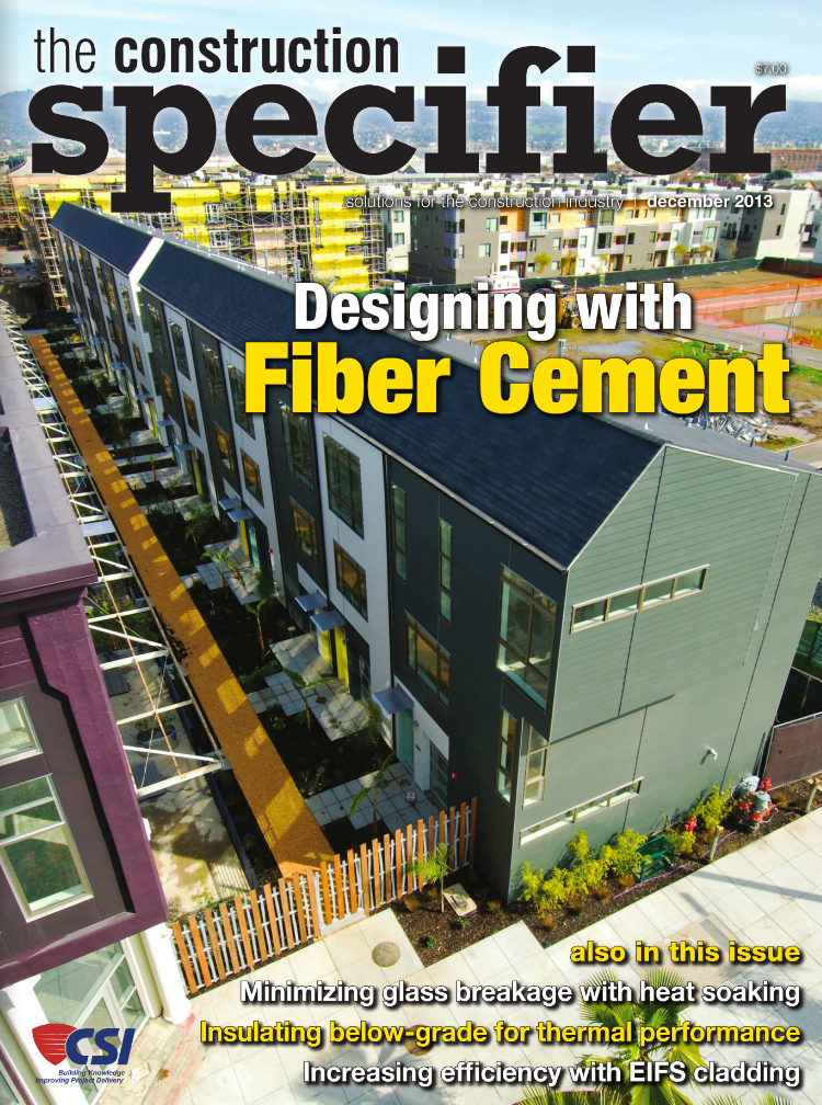 The Construction Specifier, December 2013