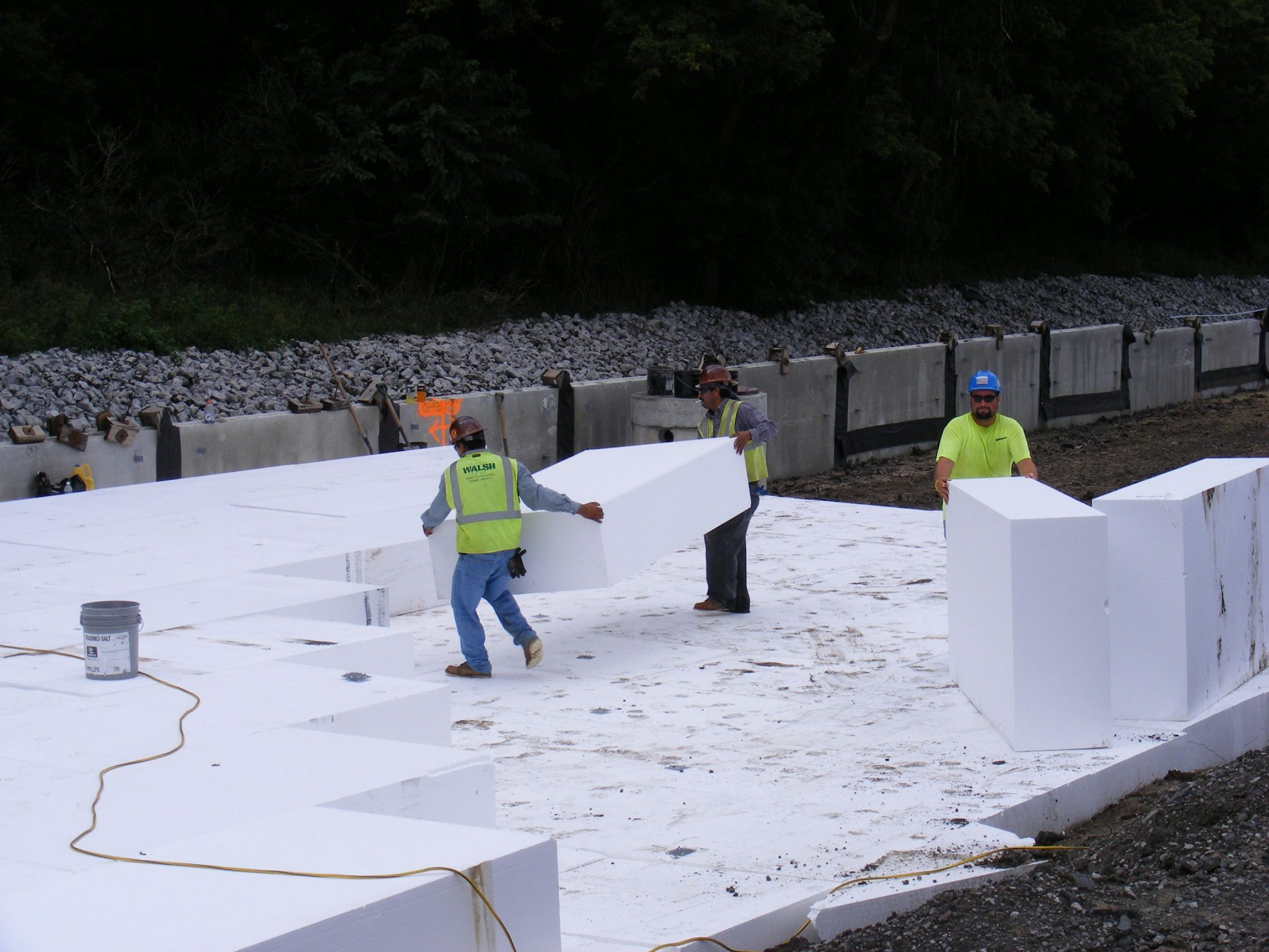 Geofoam Saves Time, Money During Three Projects | Insulfoam
