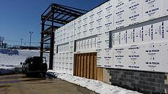 RacePace Wall Insulation