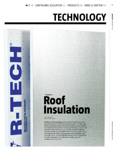 R-Tech Roof Insulation
