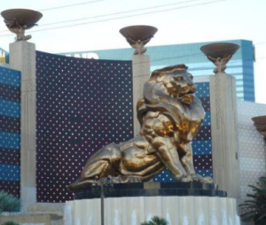 Insulfoam's MGM Lion Las Vegas, NV