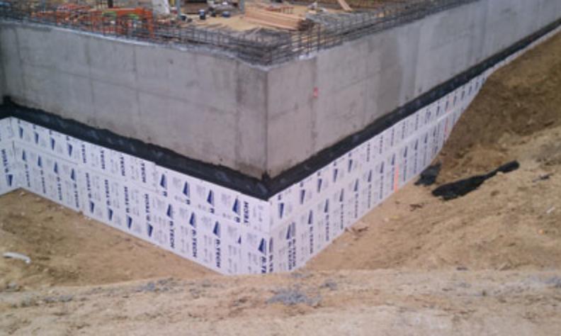 Below grade and under slab building insulation insulfoam for Slab on grade foundation cost