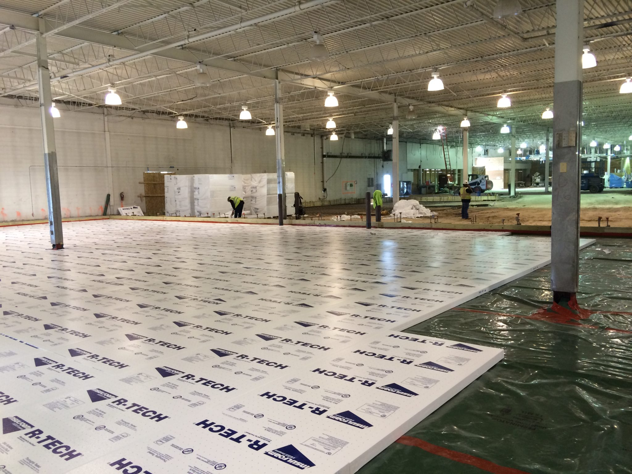 The dirt on below grade insulation insulfoam - How put cement foundations ceilings ...