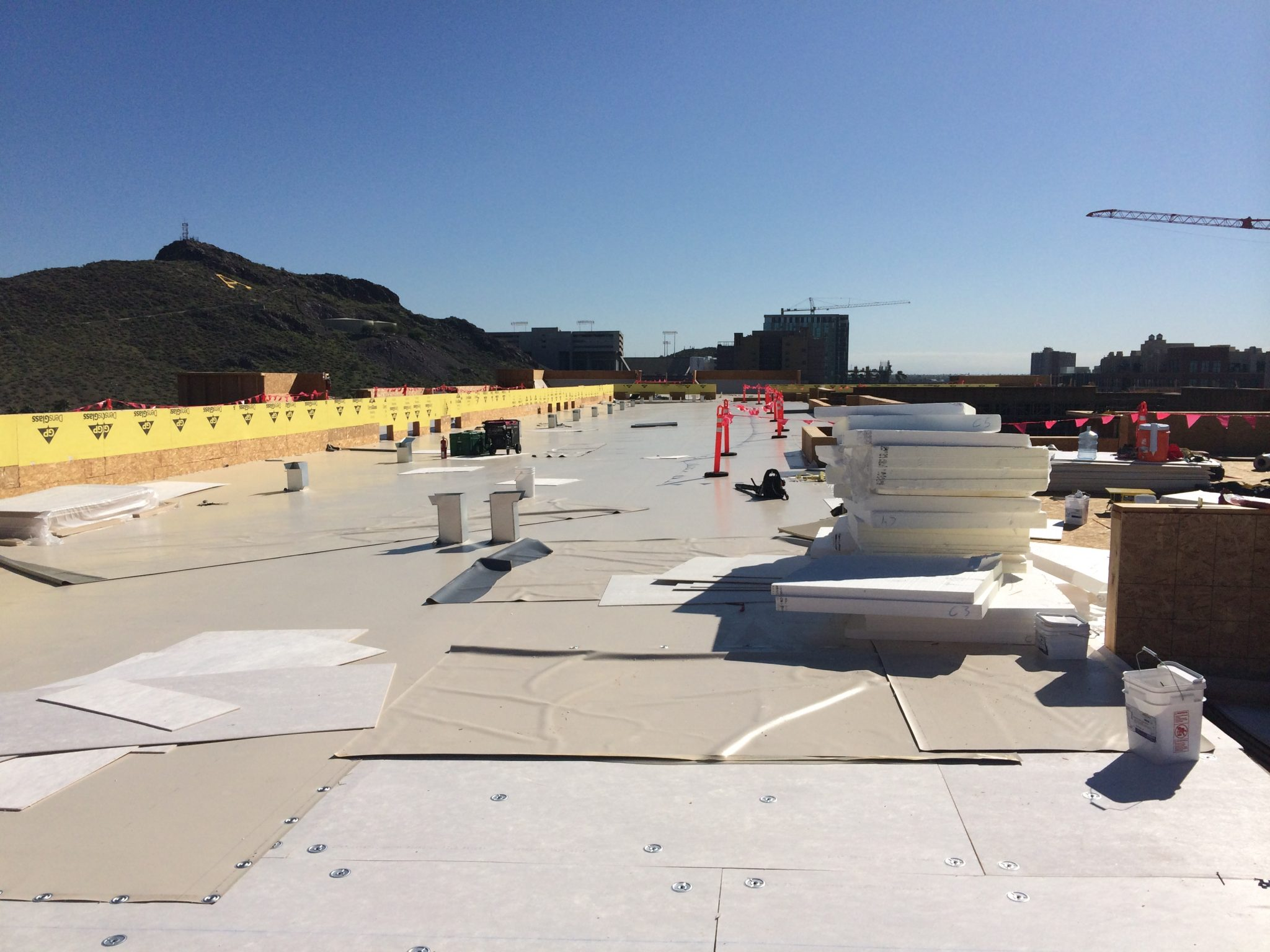Effective Drainage For Flat Roofs Insulfoam