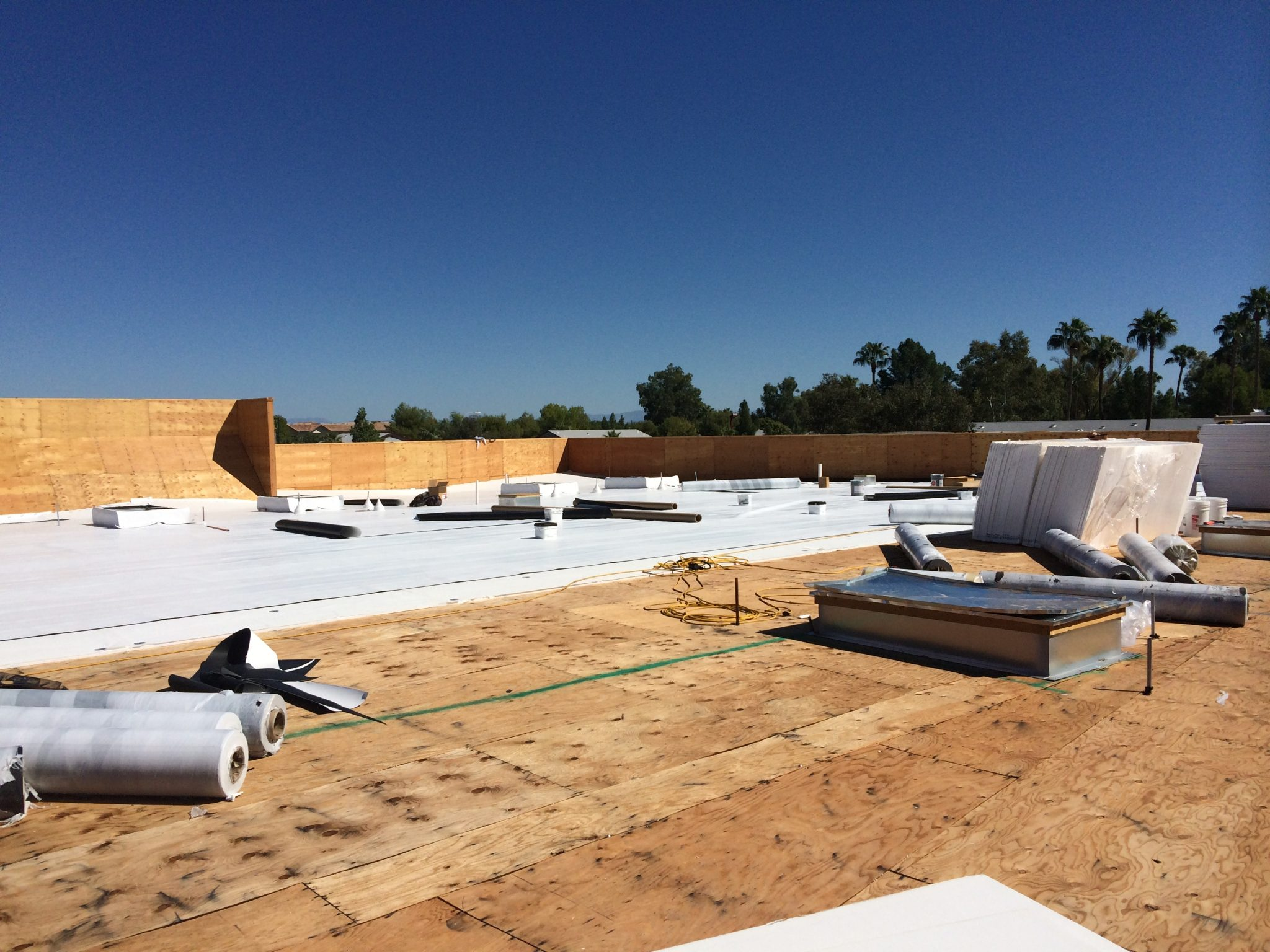 Insulroof Sp Low Sloped Roofing Solution For Arizona
