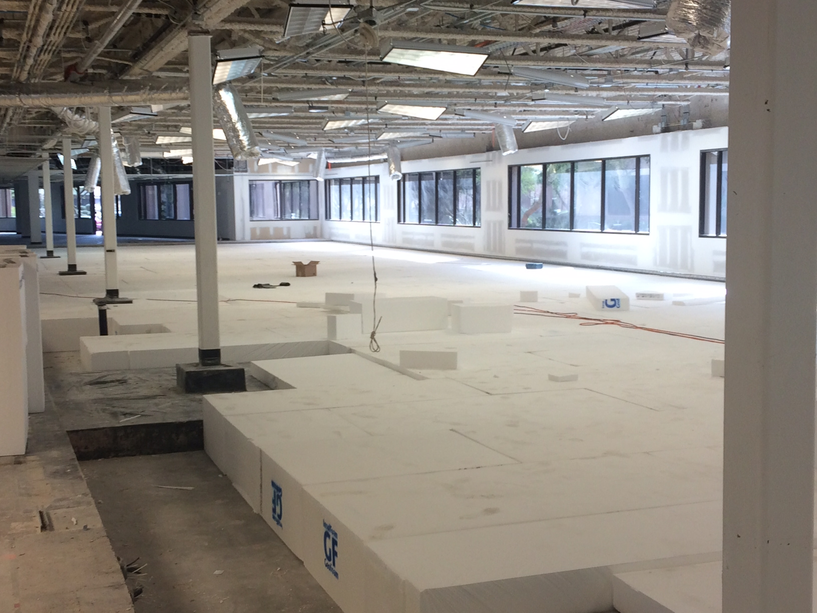 EPS Geofoam as Slab Infill Saves Contractor Time & Money | Insulfoam