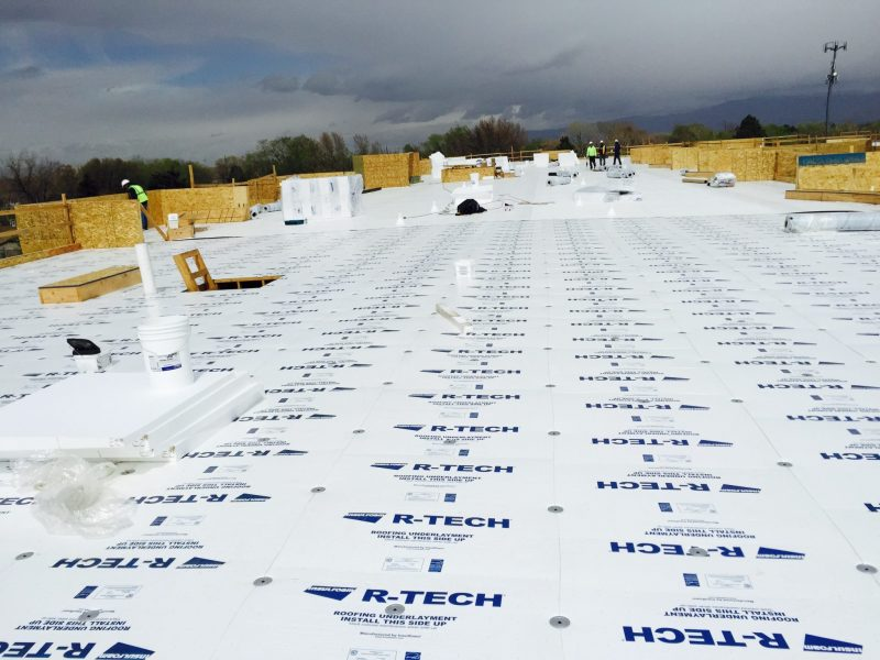 Save Time, Save Roofs -Roof recovers made easy and cost effective with R-TECH