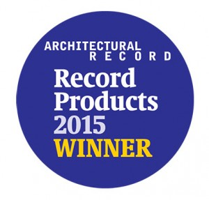 Architectural Record Product Winner_2015 Badge