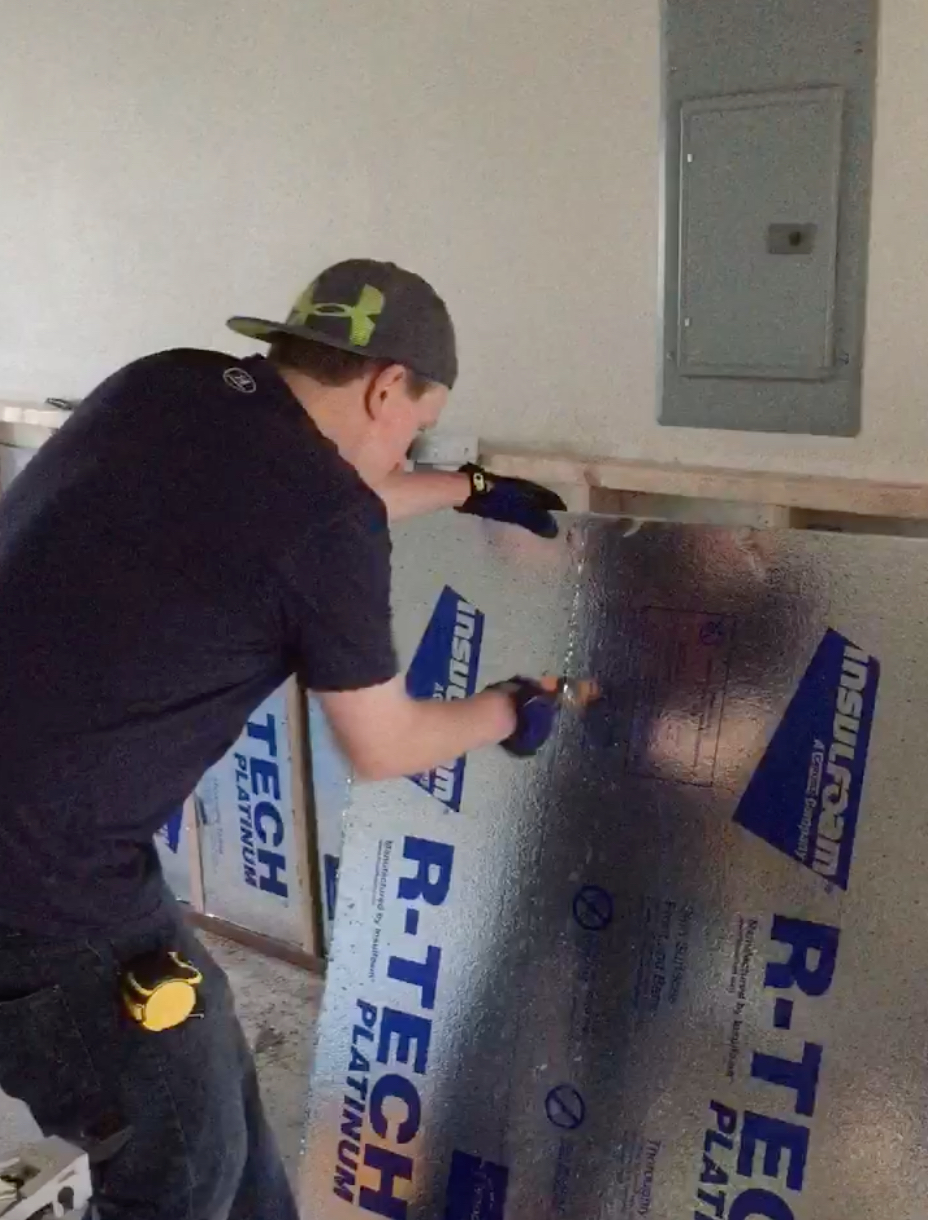 DIY Project:  Basement insulation upgrade after flood