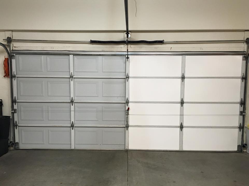 Diy garage door insulation insulfoam diy garage door insulation installation in steamy arizona solutioingenieria Choice Image