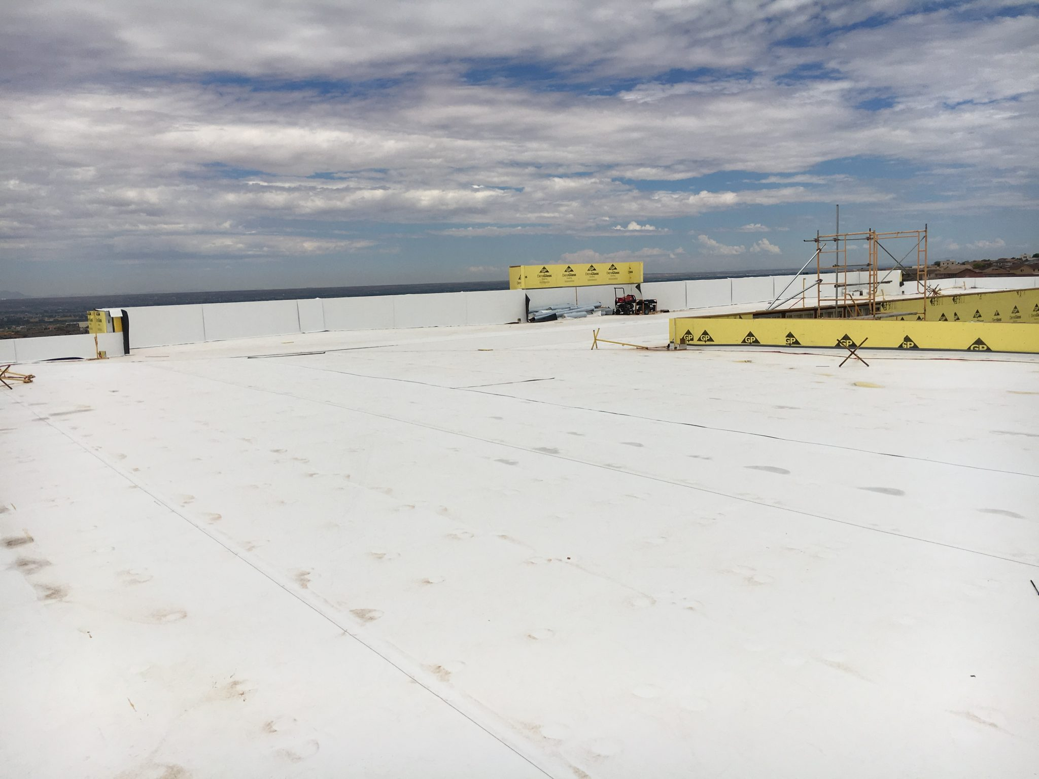 Product Feature:  Tapered Roofing Insulation