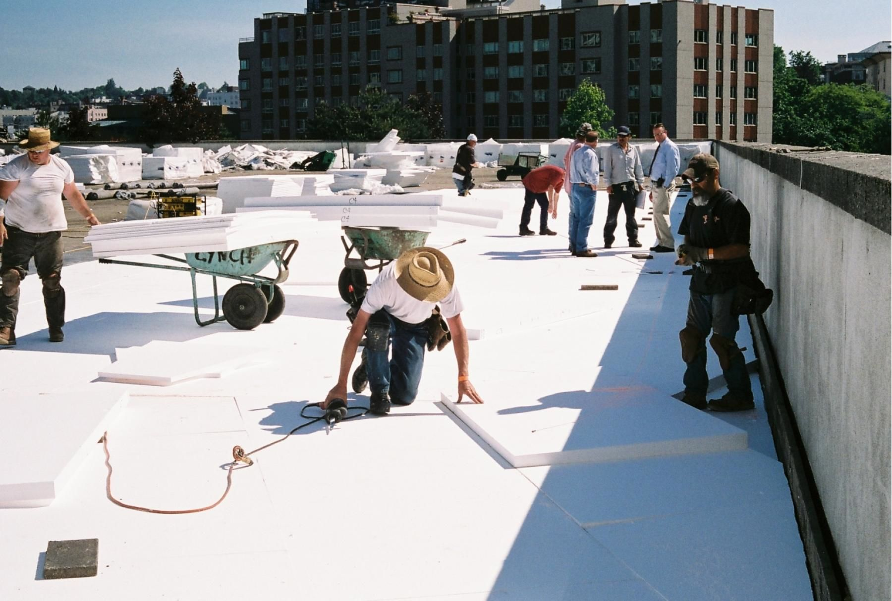 Commercial Roof Insulation Eps Roofs Insulfoam