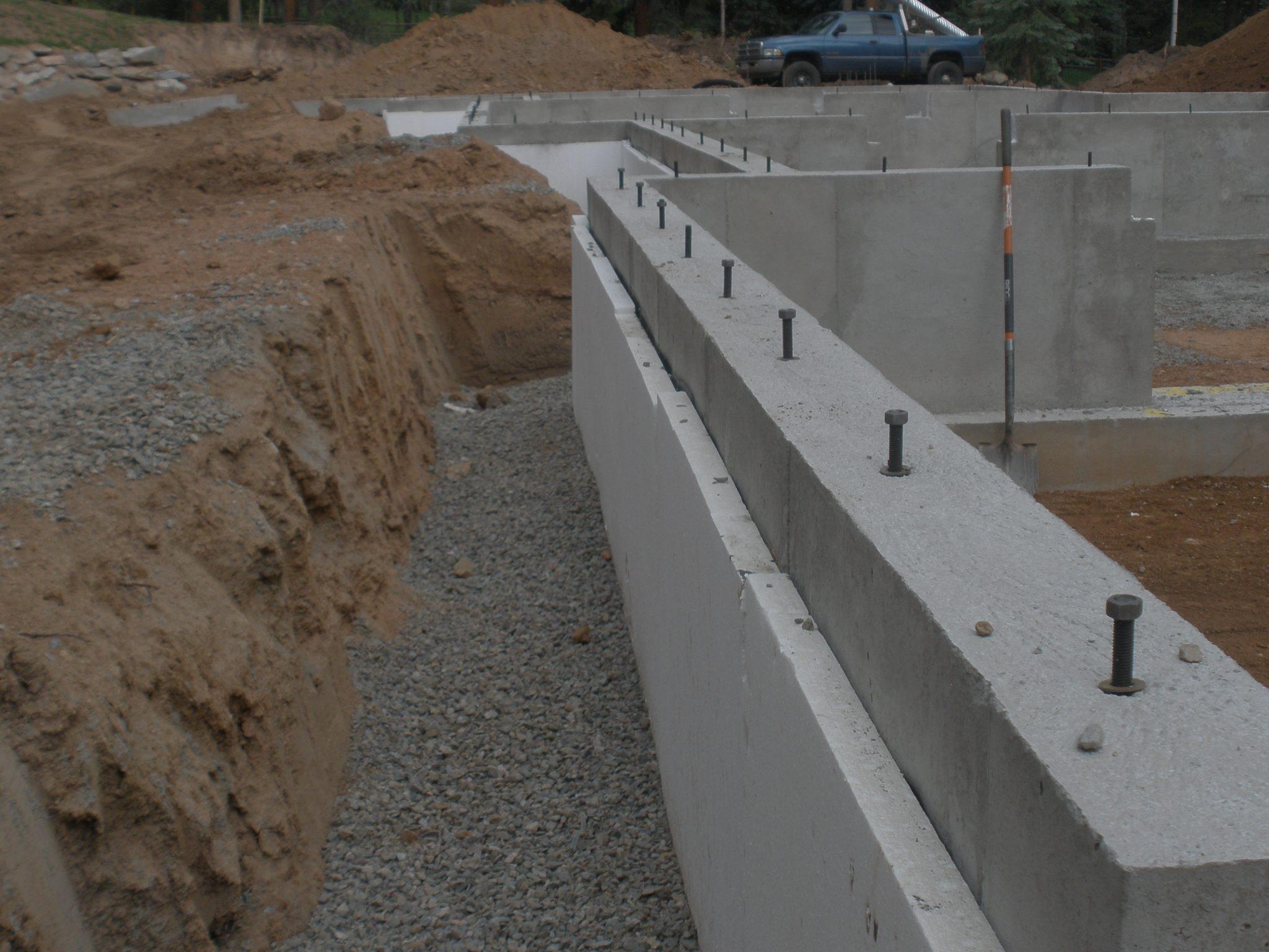 Commercial Below Grade Amp Under Slab Insulation Insulfoam