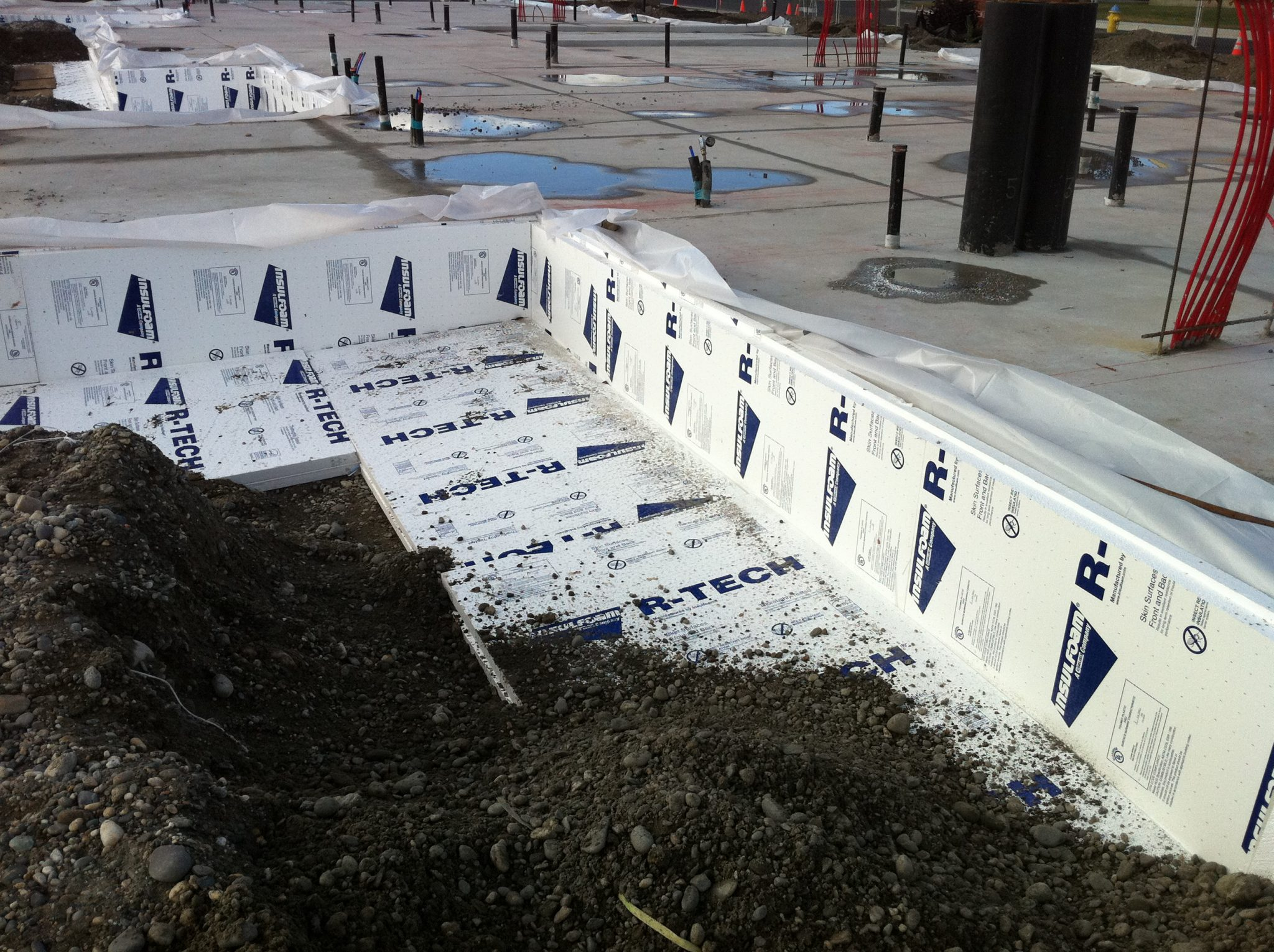 Commercial Below Grade Amp Under Slab Insulation Insulfoam