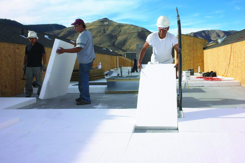 Commercial Roof Insulation Landing Page Insulfoam