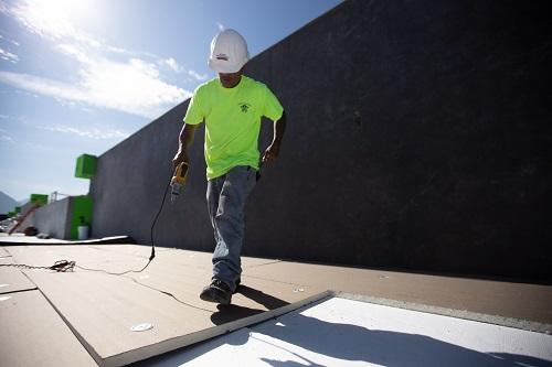 Hybrid Roof System with Insulfoam Foundation Means Substantial Savings for Utah Business Park